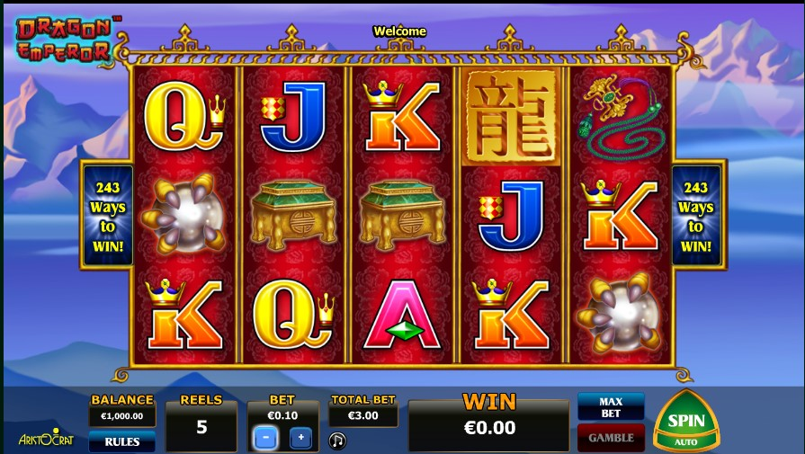Dragon Emperor Slot Review