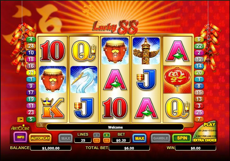 Lucky 88 Slot Review