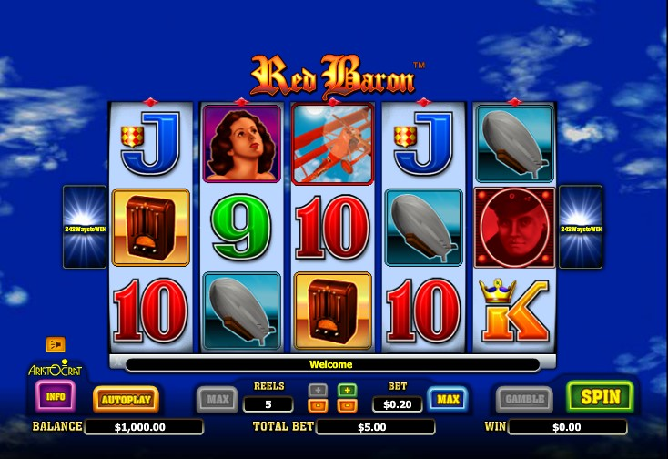 Red Baron Slot Review