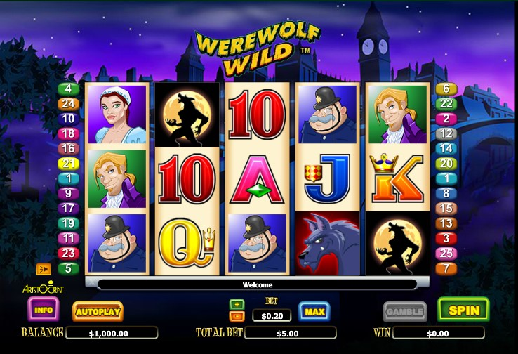Werewolf Wild Slot Review