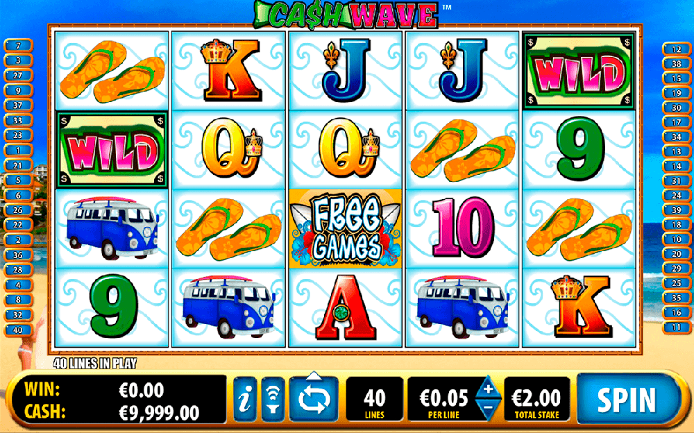 Cash Wave Slot Review