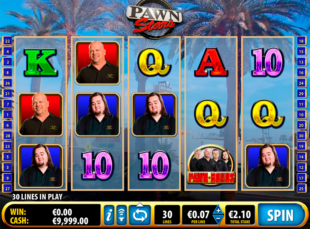 Pawn Stars Slot Review