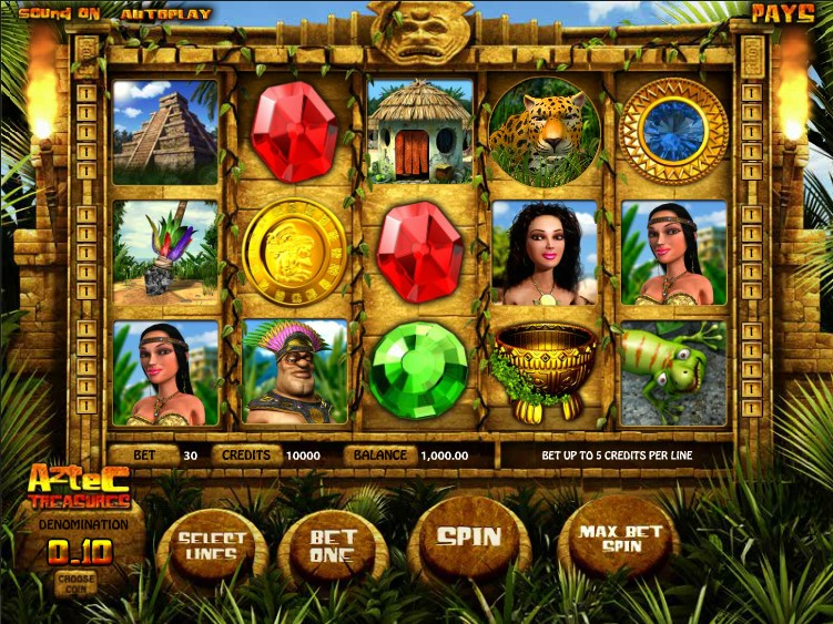 Aztec Treasure Slot Review