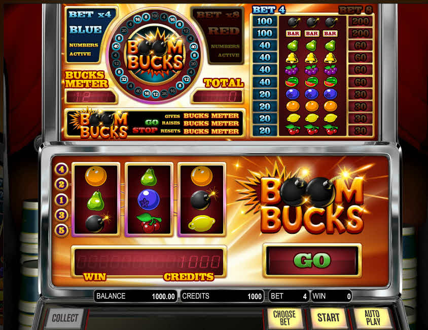 Boom Bucks Slot Review