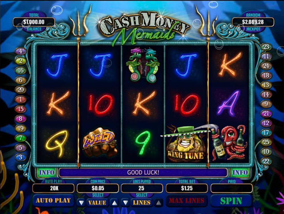 Cash Money Mermaids Slot Review